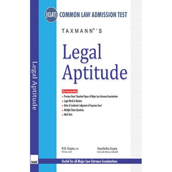 CLAT - Legal Aptitude - English, Paperback, Rk Gupta