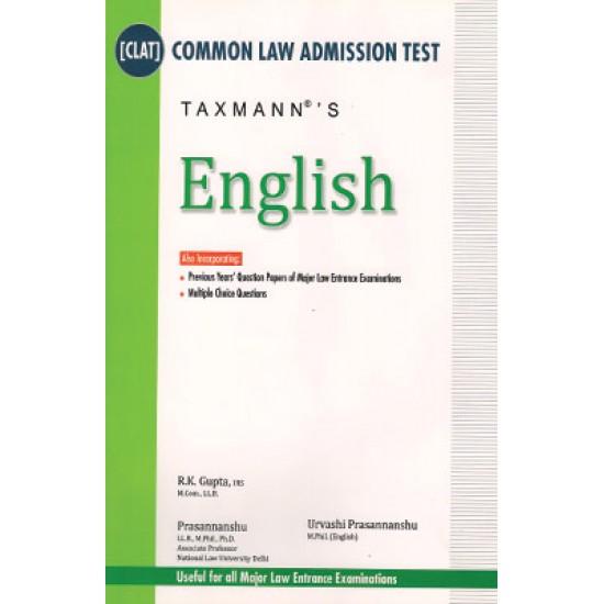 CLAT - English, Paperback, Rk Gupta